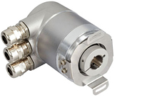 absolute optical rotary encoder CANopen DS 401 hollow