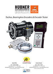 Large Bore Encoders and Tachogeneratora