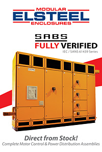 ELSTEEL Motor Control and Power Distribution SABS verified Assemblies