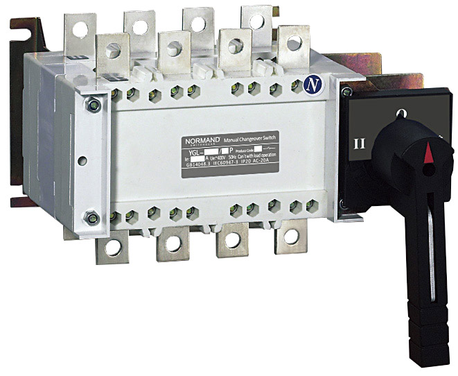 Normand Manual Changeover (Transfer) Switch - MTS